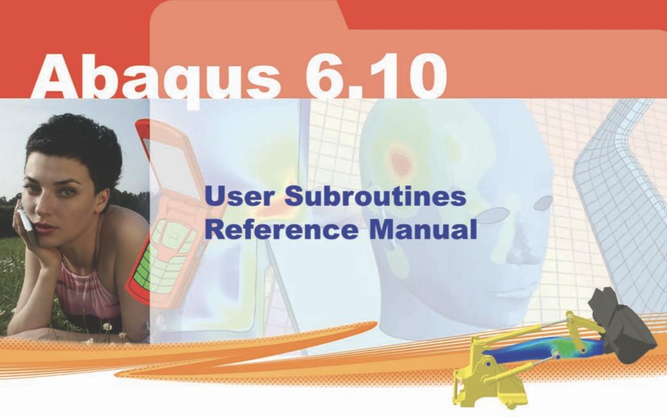 Coding subroutines in Abaqus   ENGINEERING BREAKDOWN